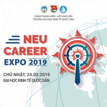 NEU CAREER EXPO – Ngày hội việc làm 2019